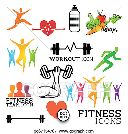 Health And Fitness Clipart 1.