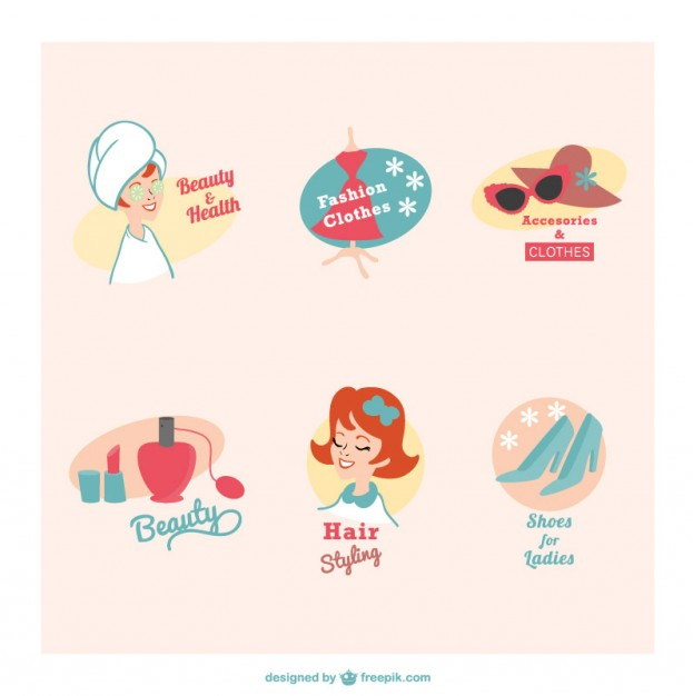 Beauty clipart vector free.