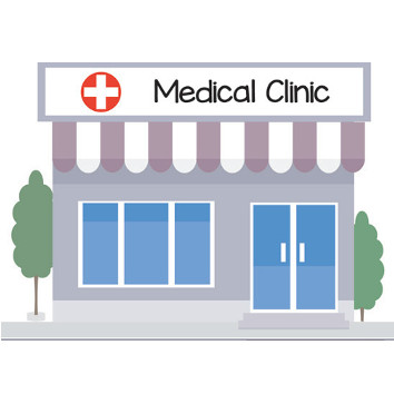Collection of free Establishing clipart medical clinic.