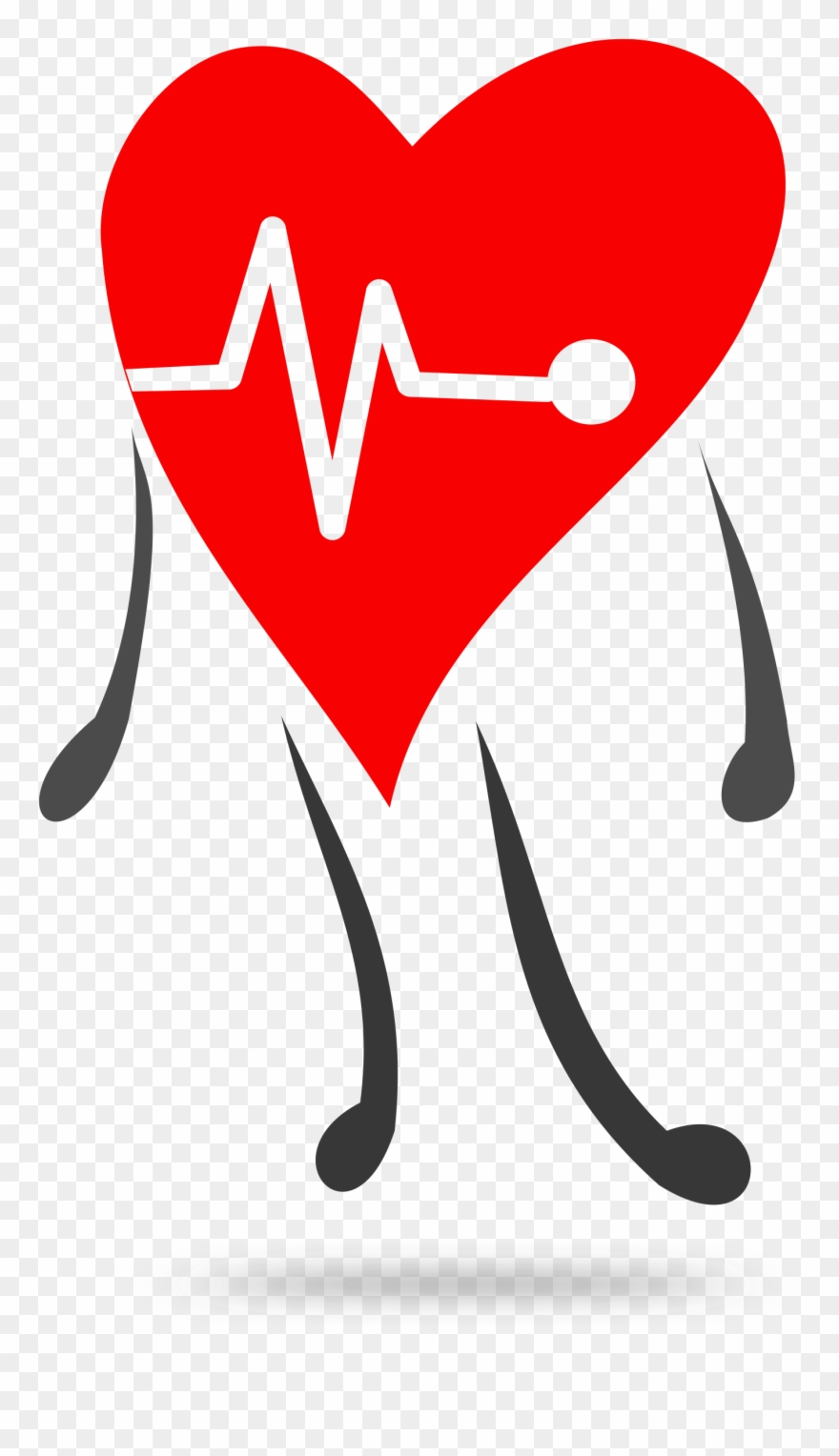 Heartbeat Clipart Healthy.