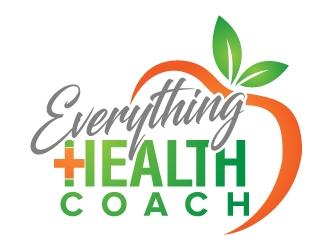 Everything Health Coach logo design.