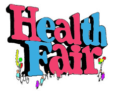 Health fair clip art.