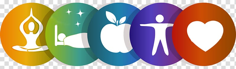 Six life logo illustration, Health, Fitness and Wellness.