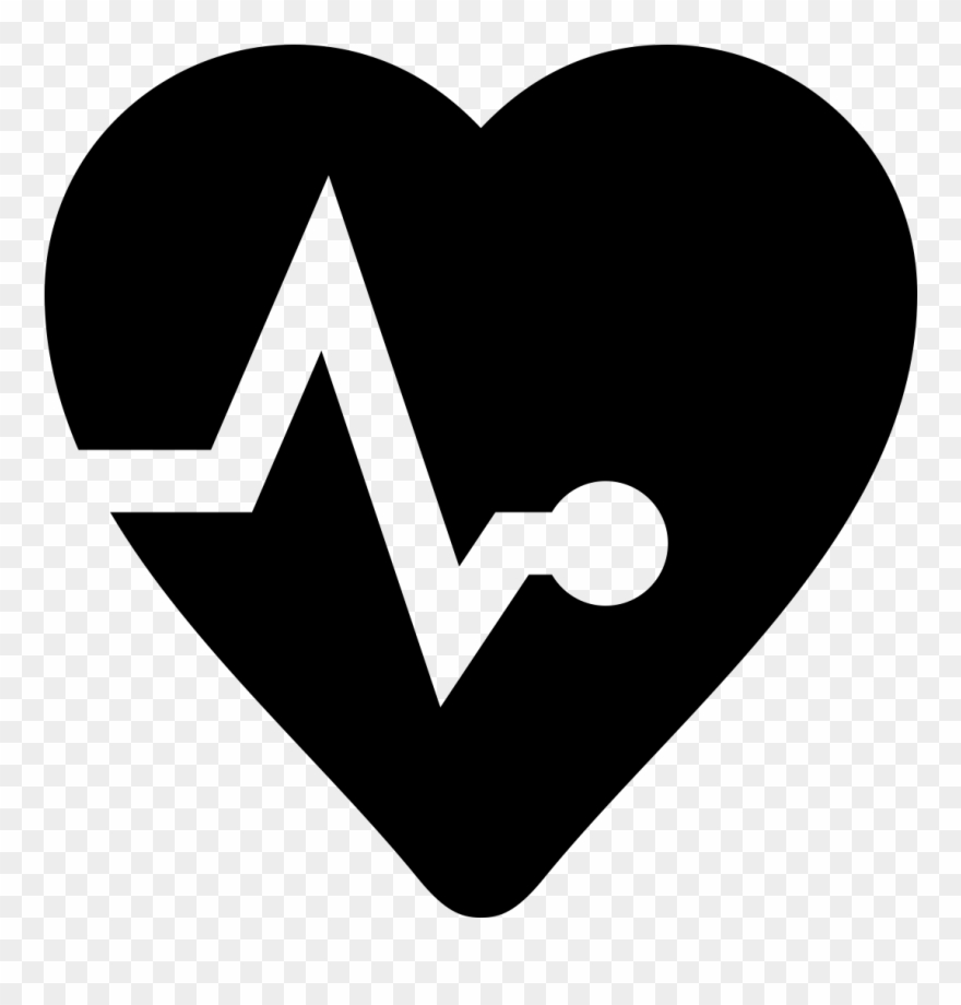 Heart Icons Healthcare.