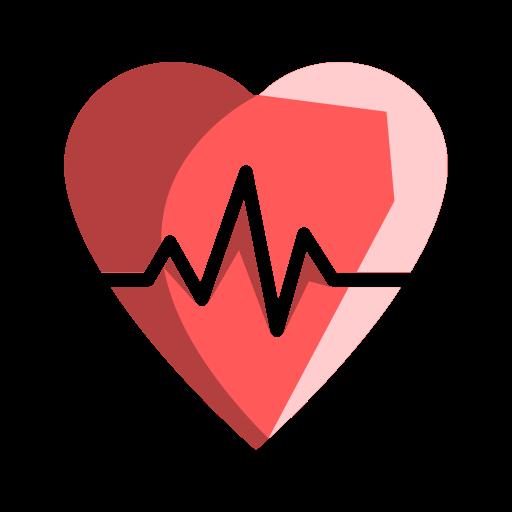 Beat, health, healthcare, heart, heartbeat icon.