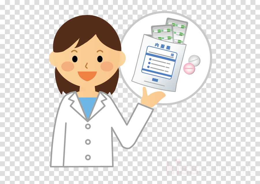 cartoon health care provider business job clipart.