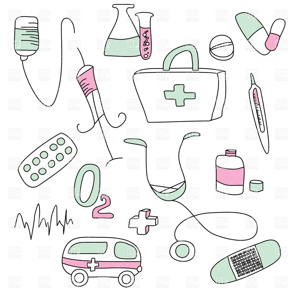 Clip Art Medical Supplies Clipart.