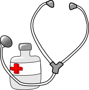 printable of medical supplies.