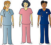 Health Care Professionals Clip Art.