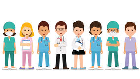 Healthcare Team Clipart.