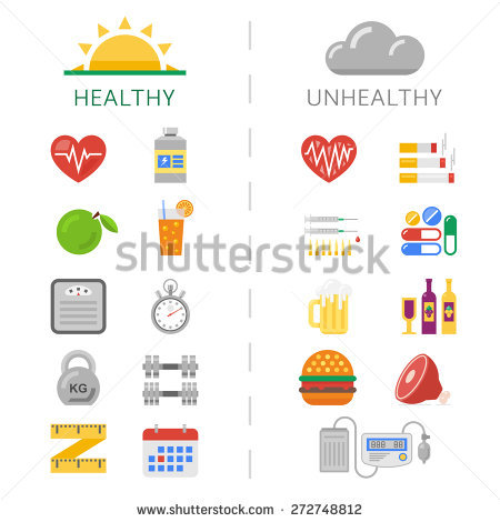 Unhealthy Eating Stock Images, Royalty.