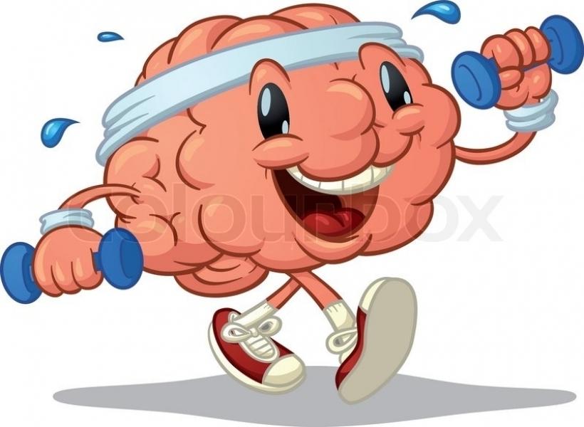 Healthy Brain Clipart.