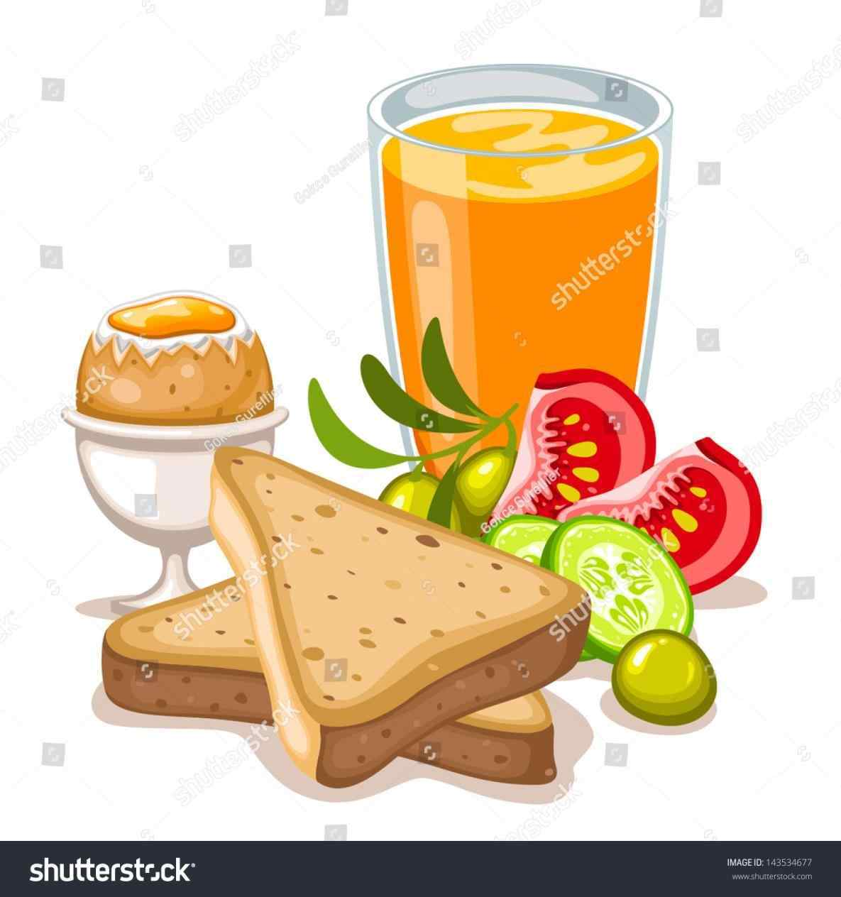 Healthy breakfast clipart 6 » Clipart Station.