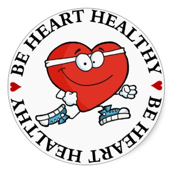 Heart healthy clipart.