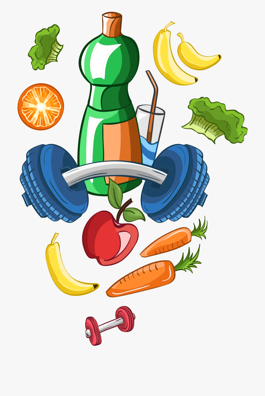 Food Clipart Transparent Background Healthy.