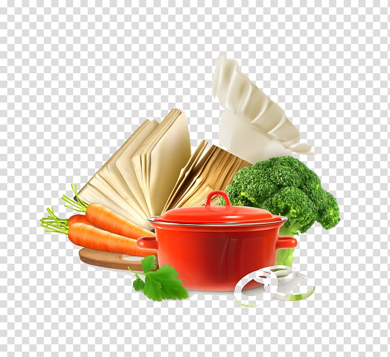 Cooking Food, Cooking healthy diet transparent background PNG.