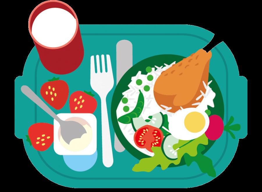 Healthy Food Junk Breakfast School Meal Clip Art Eating Png.