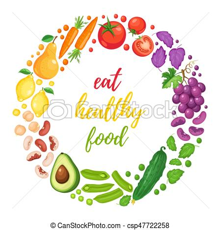 healthy eating poster.