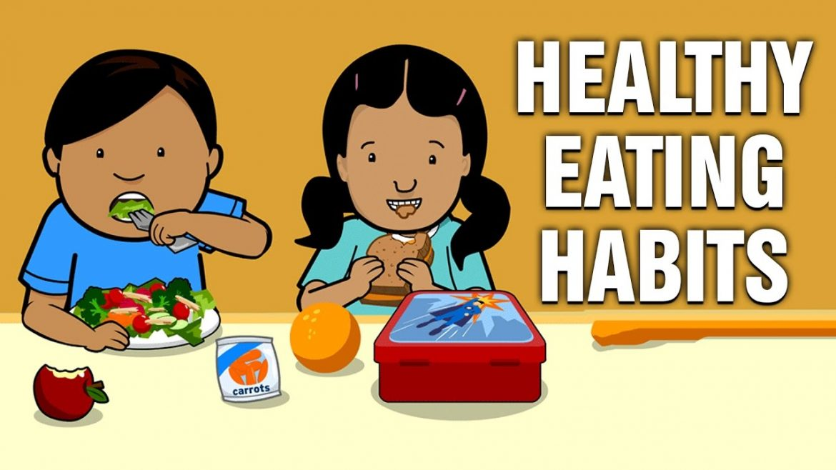 How to raise healthy eating habits in kids.