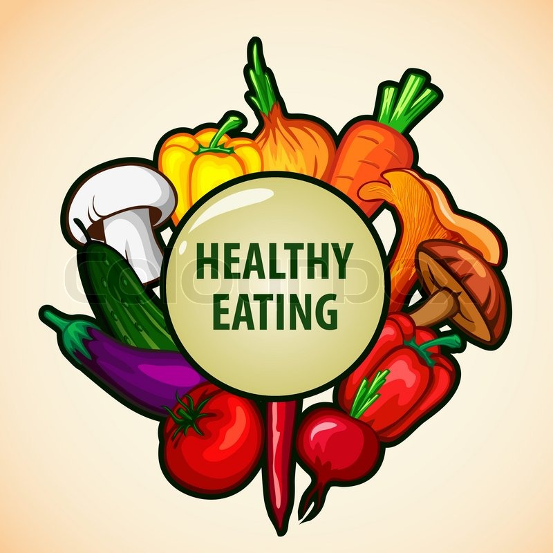 Healthy Eating Clipart Dieted Meal.