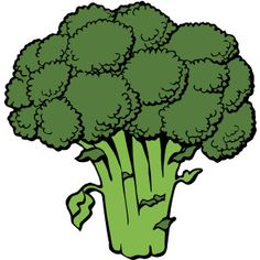 Clipart images of healthy food.