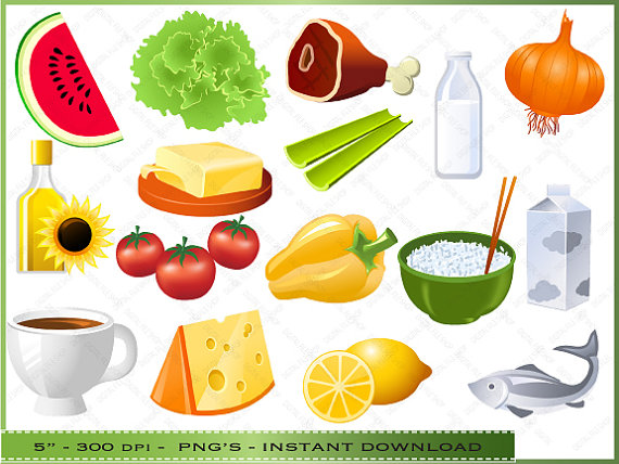 Healthy Food Clipart For Kids.