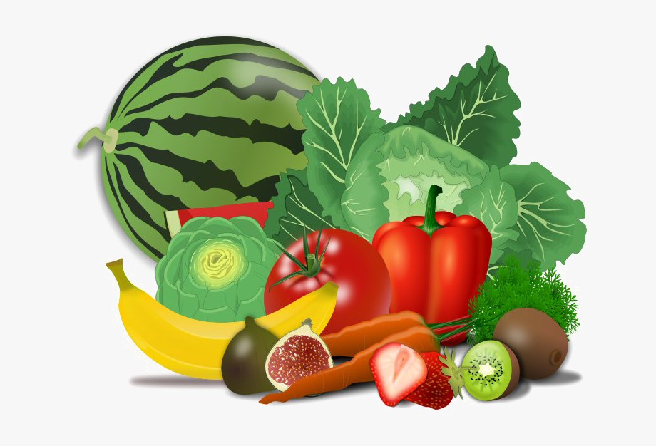Fresh Healthy Food Png Transparent Image.