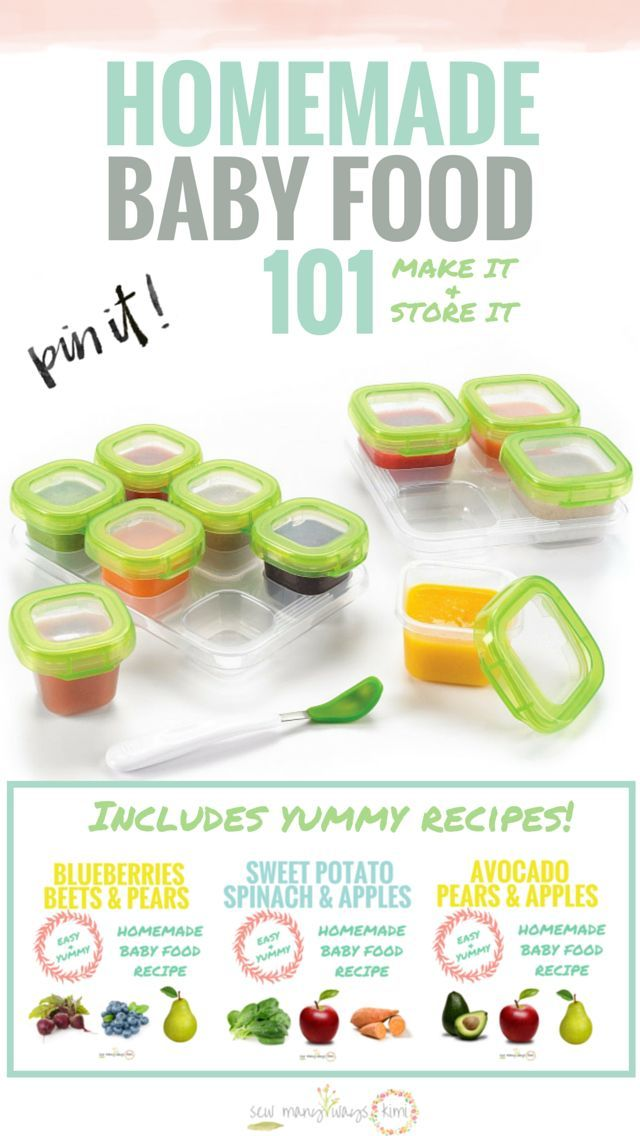 25+ best ideas about Homemade Baby Foods on Pinterest.