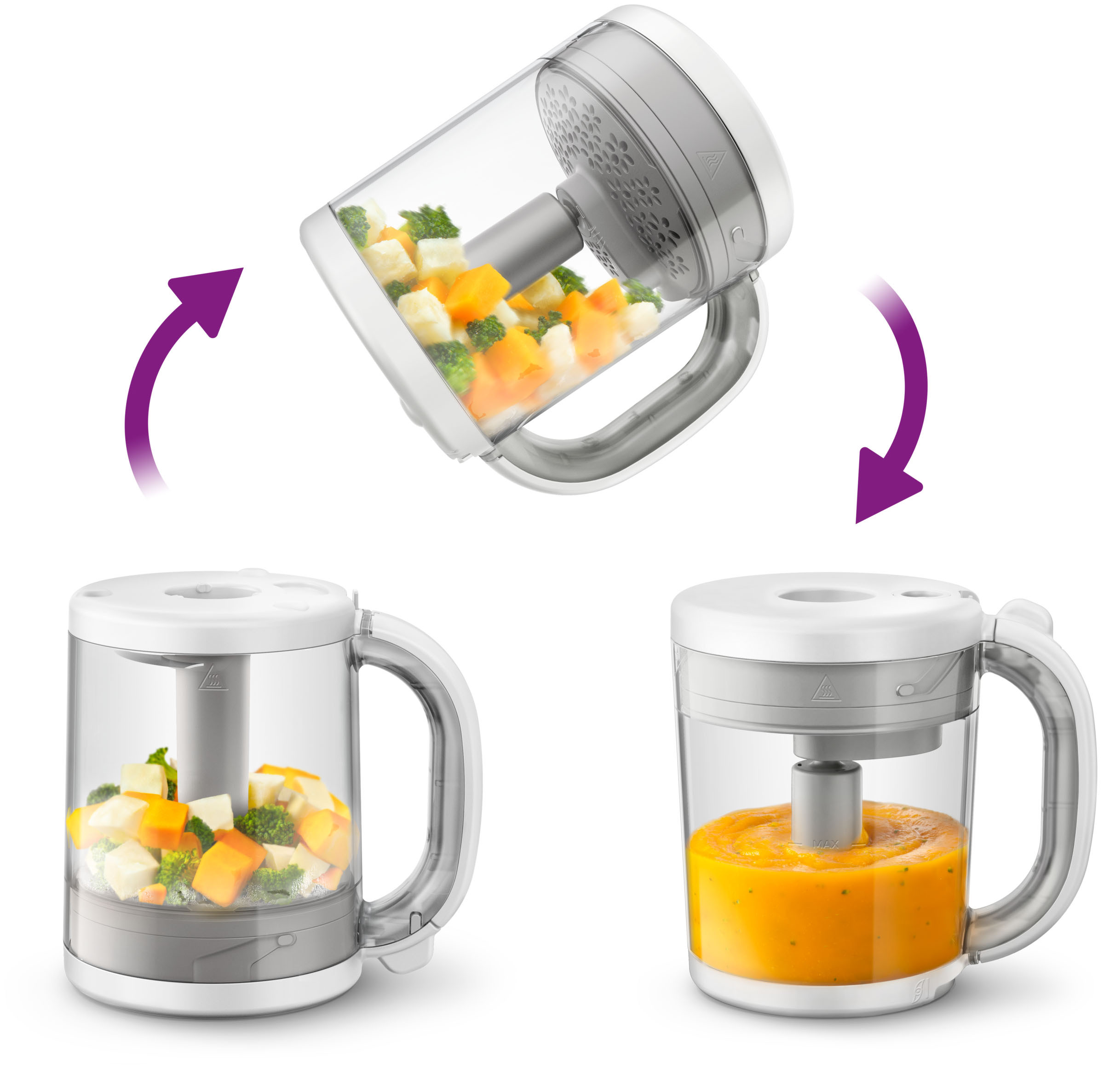 Philips Avent 4 in 1 Healthy Baby Food Maker.