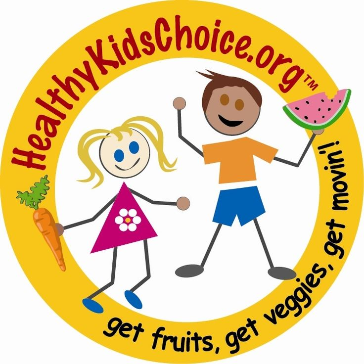 Healthy Foods For Kids Clipart.