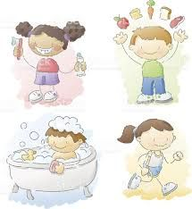 Image result for good health habits clipart.