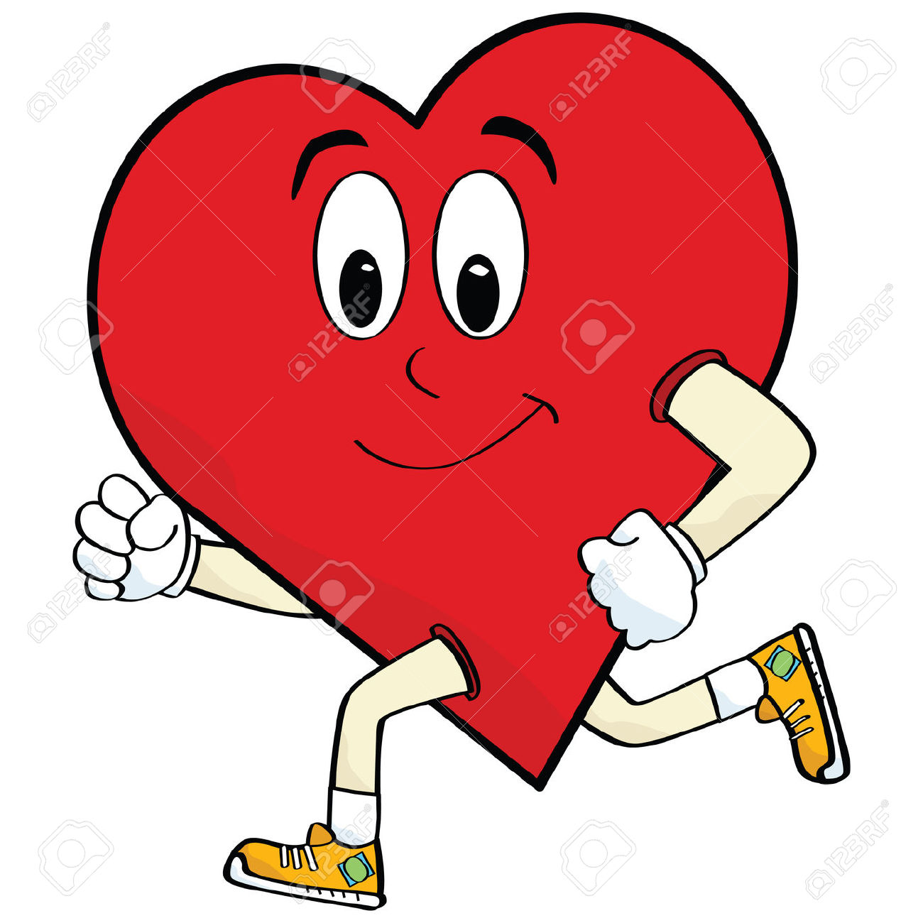 Healthy heart clipart 6 » Clipart Station.