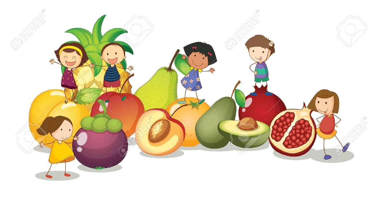 Healthy kids clipart 4 » Clipart Station.