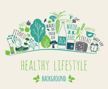 8,655 Healthy Living Cliparts, Stock Vector And Royalty Free Healthy.