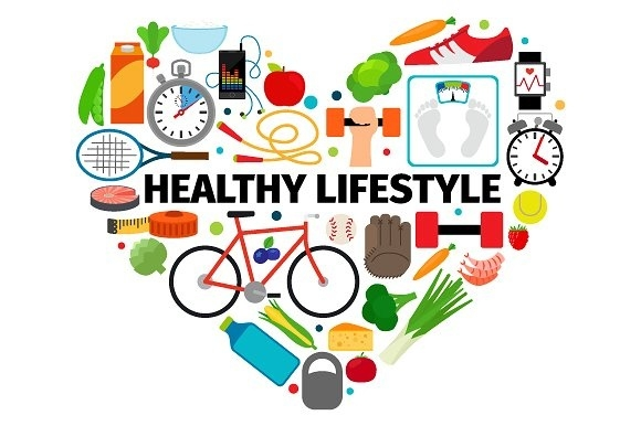 Download healthy lifestyle heart clipart Lifestyle Health.