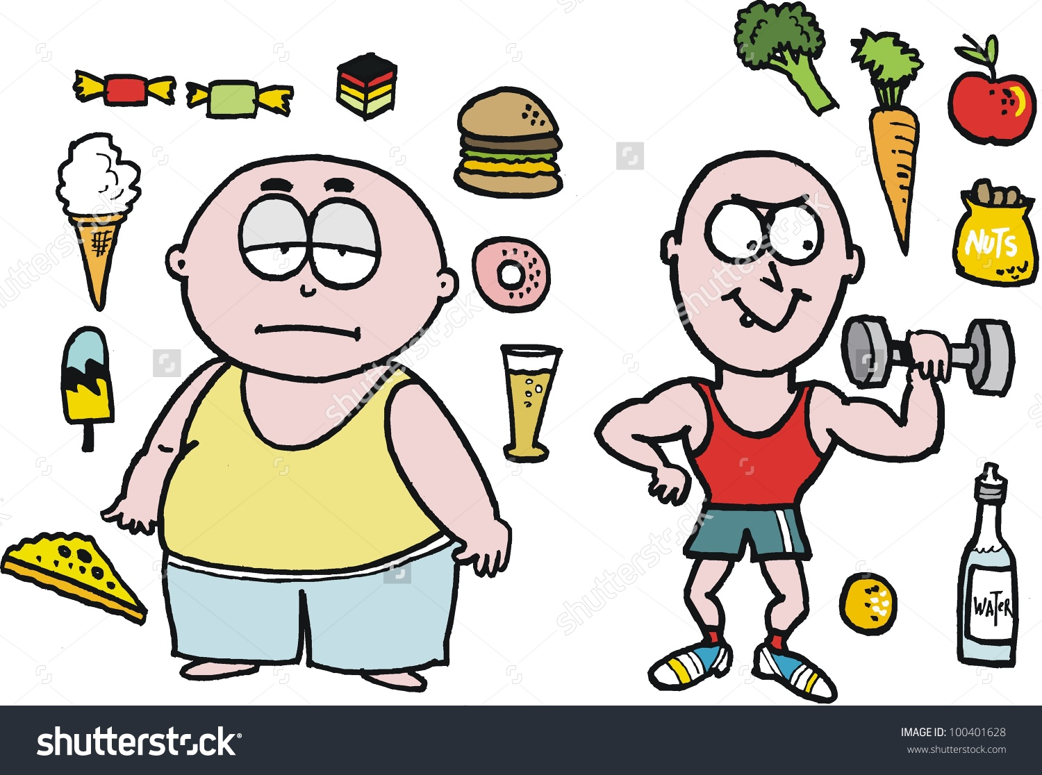 Free Healthy People Cliparts, Download Free Clip Art, Free Clip Art.