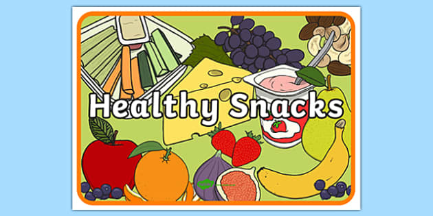 Snack Clipart healthy snack 6.