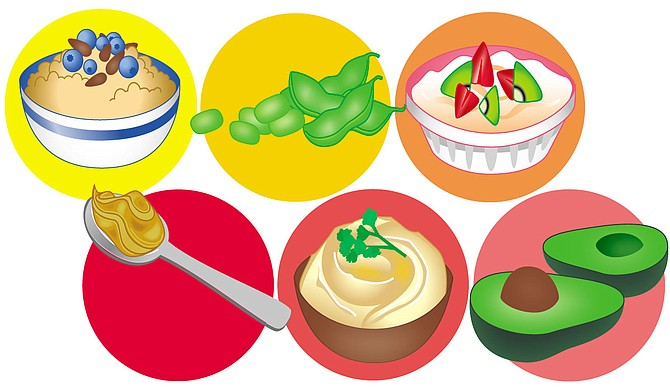 Healthy snacks clipart 2 » Clipart Station.
