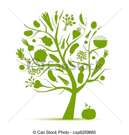 Clipart Vector of Healthy life.