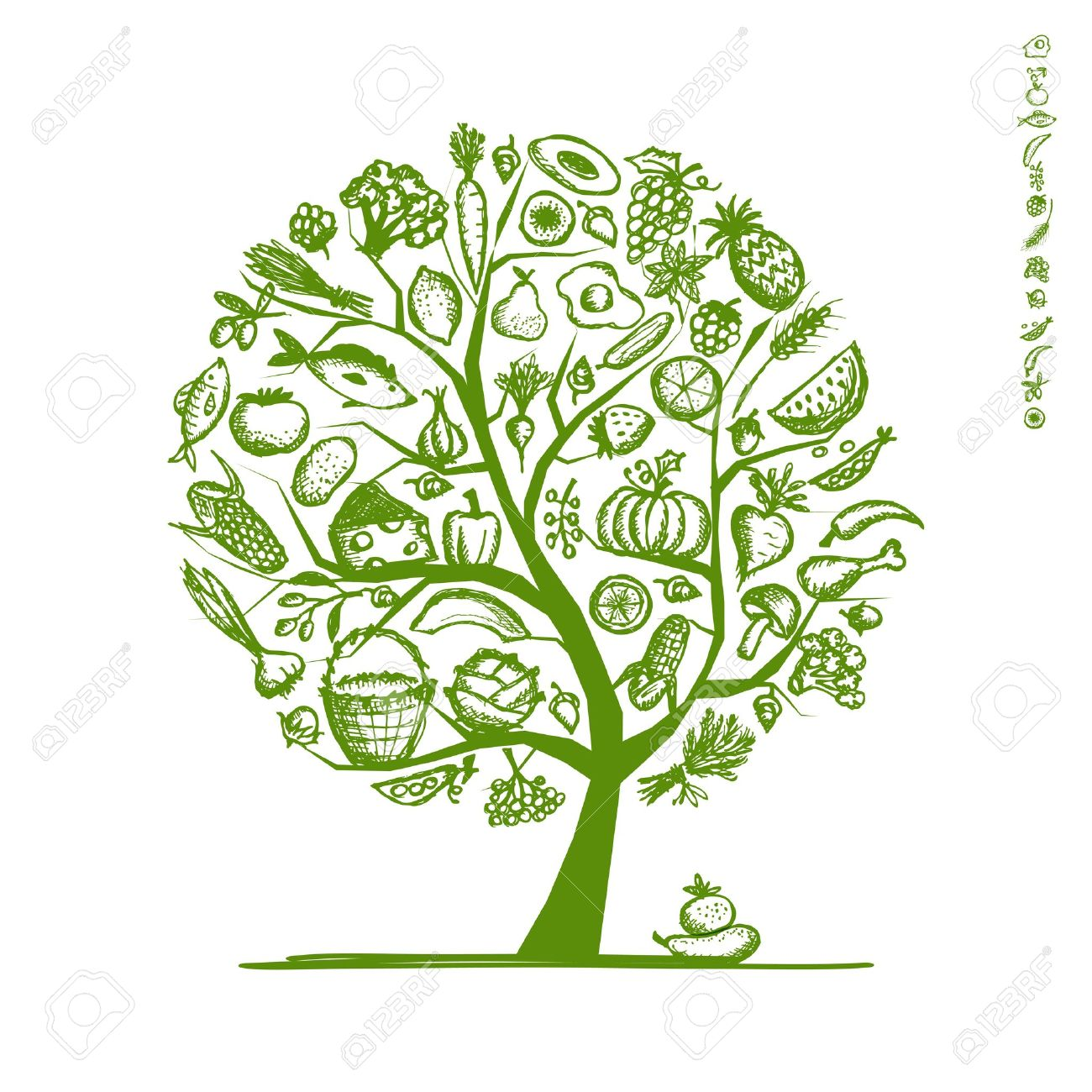 356 Pepper Tree Stock Vector Illustration And Royalty Free Pepper.