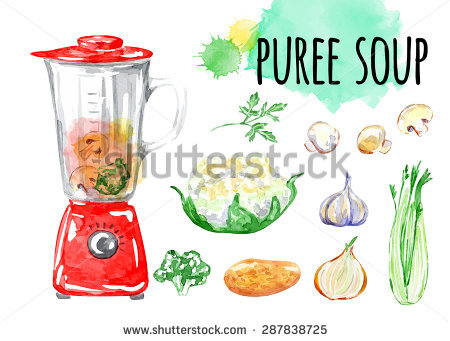 Vegetable Soup Isolated Stock Photos, Royalty.