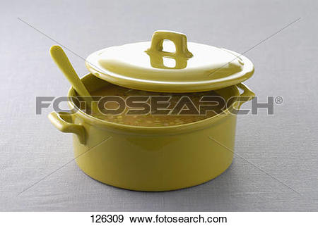 Stock Photograph of Healthy vegetable soup 126309.