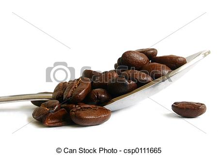 Stock Images of Spoonful of Coffee.