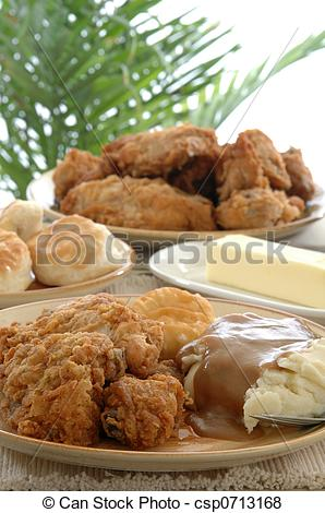 Pictures of Fried Chicken.