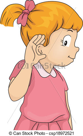 Ears to hear clipart.