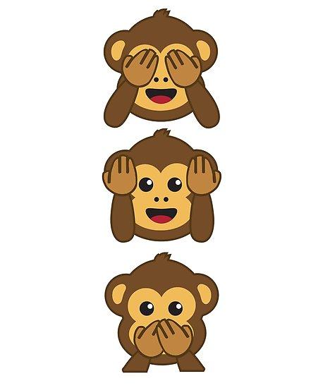 \'Three Wise Monkeys Shirt.