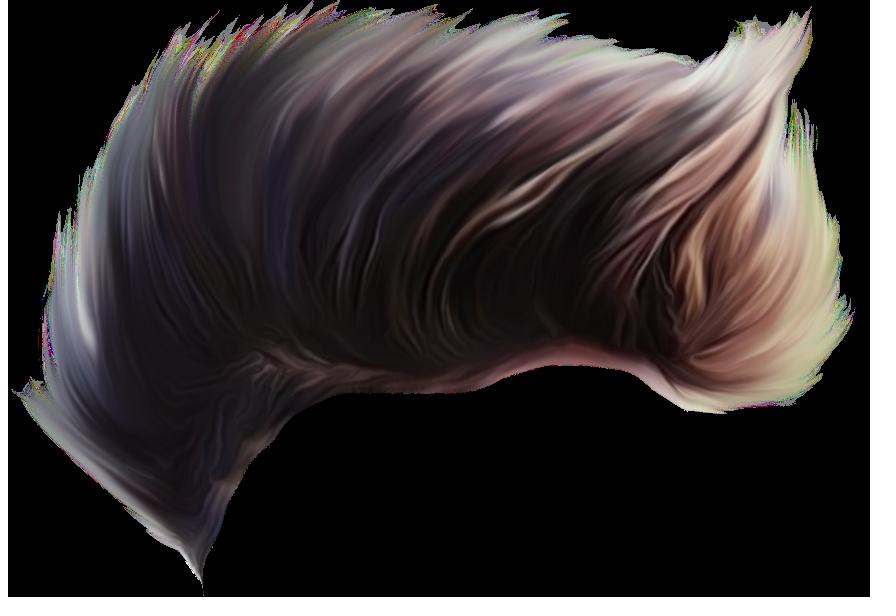 Stylish CB Hair PNG.