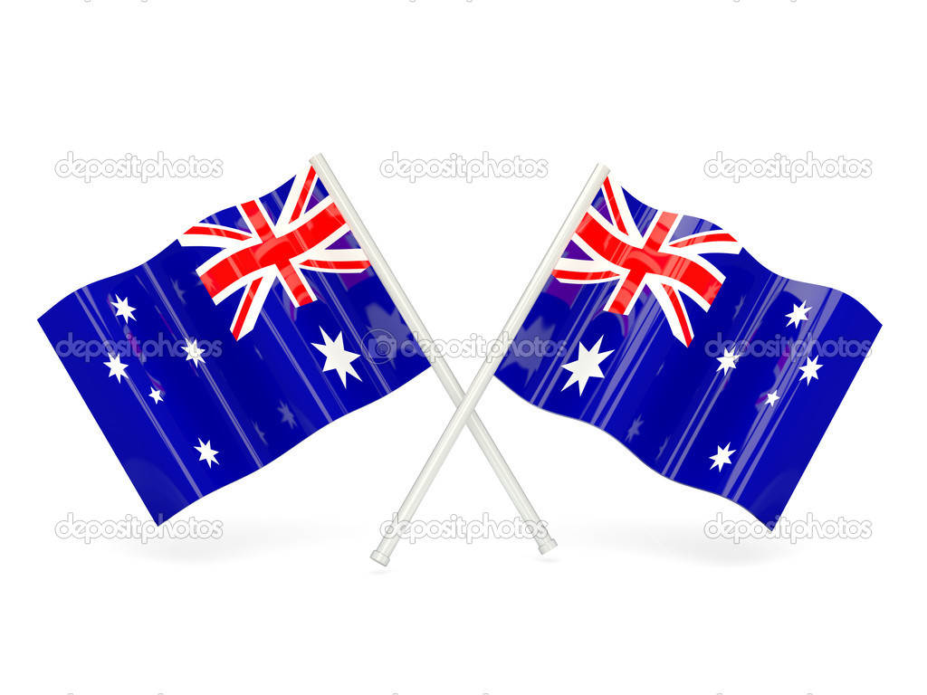 Flag of heard island and mcdonald islands — Stock Photo.