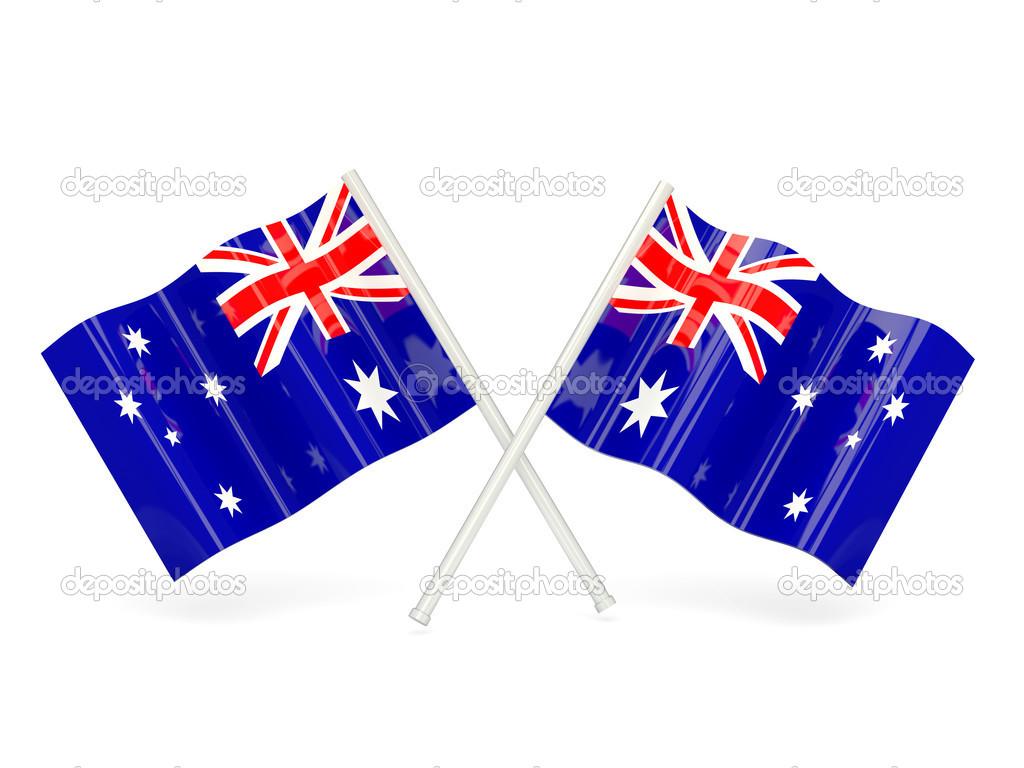 Flag of heard island and mcdonald islands — Stock Photo.