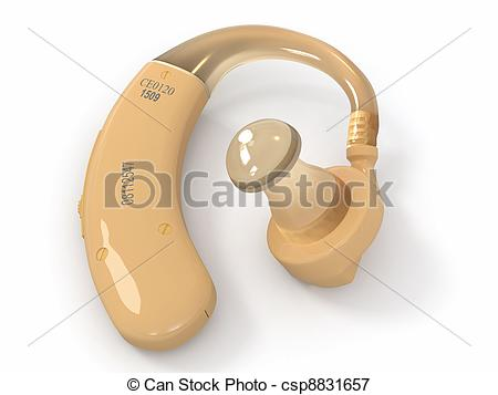 Hearing aid Illustrations and Stock Art. 973 Hearing aid.